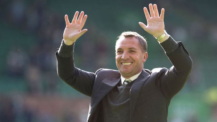 Brendan Rodgers acknowledges Celtic fans' 10-in-a-row chants