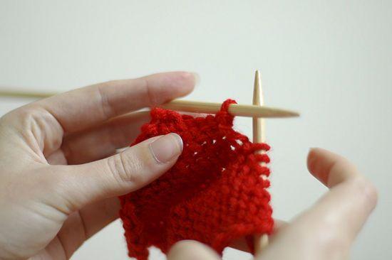 Knitting Garter Stitch Left Handed : 17 Best images about Knitting for left handers on Pinterest Ribs, Knitting ...