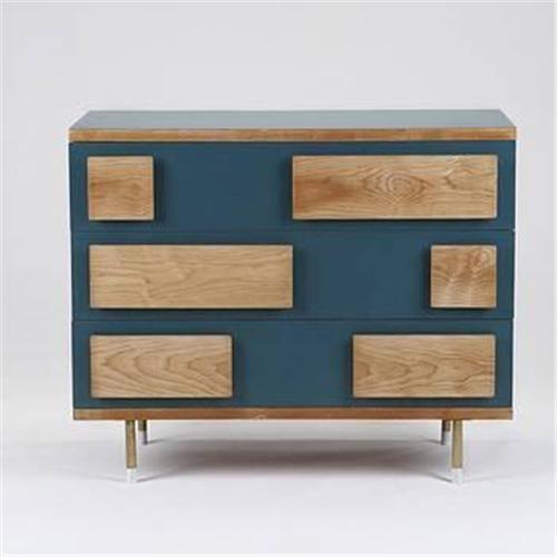 1964, Gio Ponti: cabinet from the Parco dei Principi, Rome Italy. Pearwood, laminate, brass (43.25W x 20.75D x 36H inches). Literature: Gio Ponti: L'Arte Si Innamora Dell'Industria, Pietra, pg. 373.