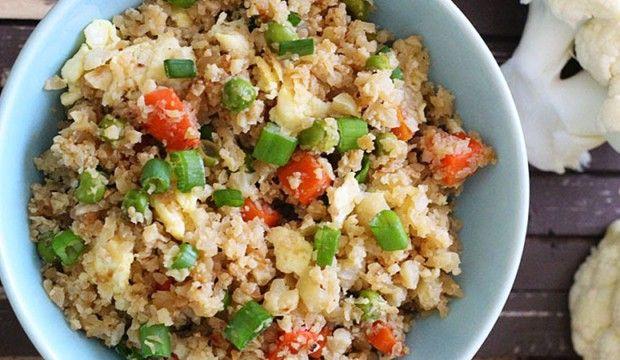 Fitness květákové rizoto – žádná rýže, minimum sacharidů