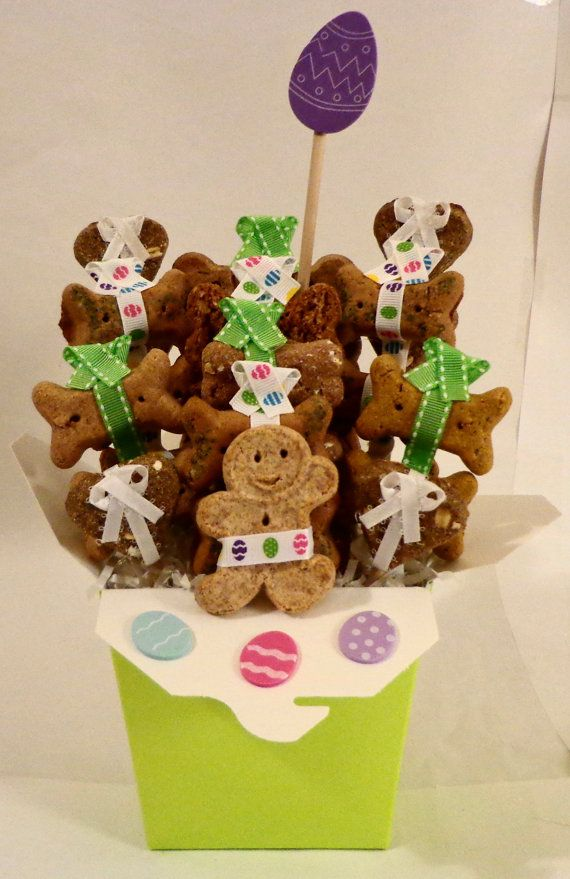 30 best hoppy easter easter ideas for dogs images on pinterest custom treat baskets for pets negle Images