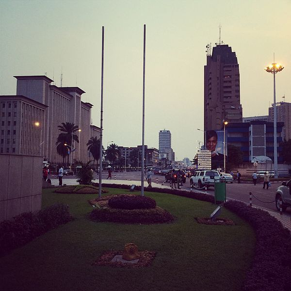 Kinshasa -Gombe.City сentre (avec Images)