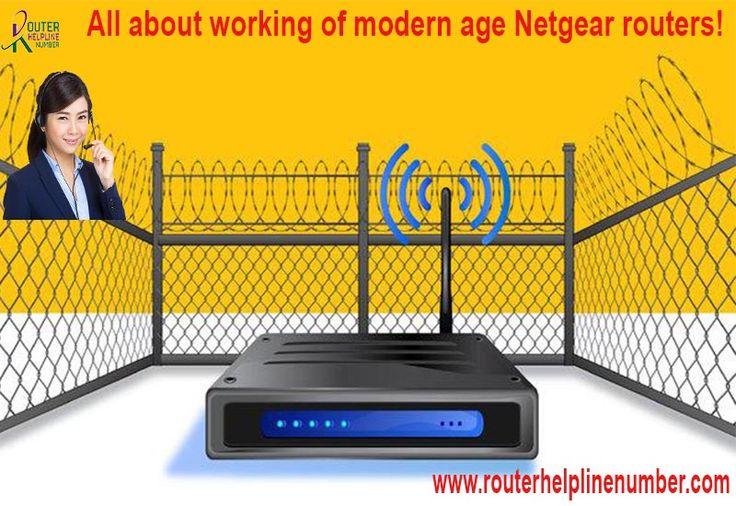 All About Working Of Modern Age Netgear Routers Netgear