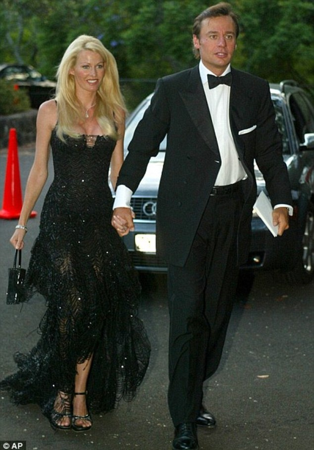 Kirsty Bertarelli, with husband Ernesto Bertarelli