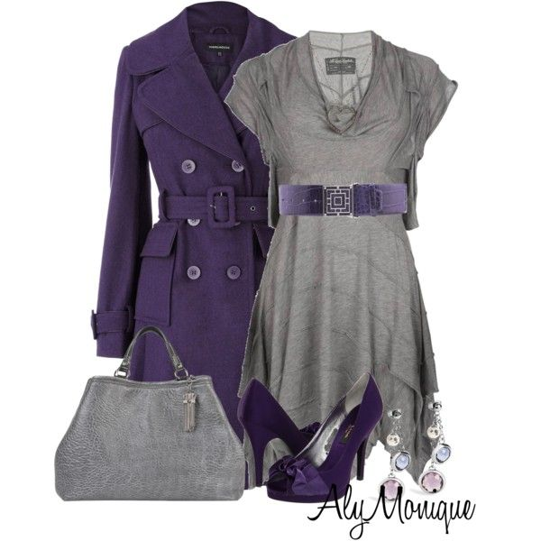 A fashion look from December 2012 featuring AllSaints dresses, Warehouse coats and Nina pumps. Browse and shop related looks.