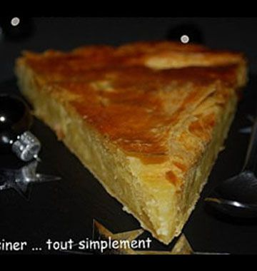Galette des rois frangipane citron (lemon curd) - Recettes de cuisine Ôdélices