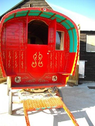 Gypsy Caravans - English gypsy caravans for sale in Devon, UK