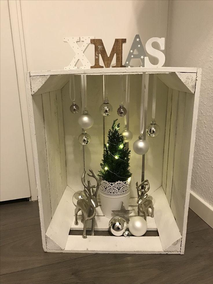 Diy Christmas Box Diygartendekoration Balkongarden Gartendekoration Gartendeko Weihnachten Haus Dekoration Weihnachtsdeko Weihnachten Weihnachtsdekoration