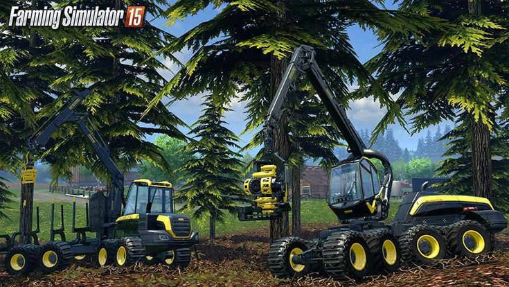 Farming Simulator 2015 This game is gorgeous