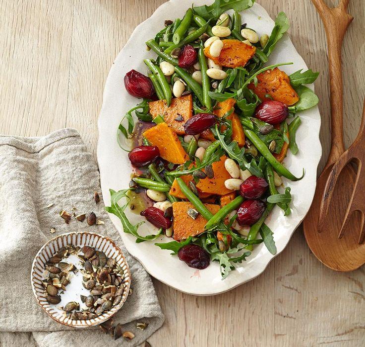 Late Summer salad with beetroot shallots - ESSEN & TRINKEN