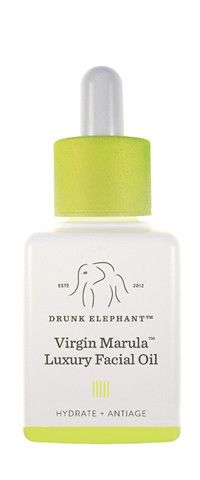Drunk Elephant Virgin Marula Oil $72 This amazingly absorbent oil delivers clinically proven anti-aging benefits and advanced protection against environmental stressors and free radicals. Look for a noticeable reduction in the appearance of fine lines, wrinkles, redness and blotchiness, with a marked improvement in skin elasticity. It is anti-microbial and appropriate for all skin types. Your skin will drink in this nutrient-rich oil leaving no residue behind