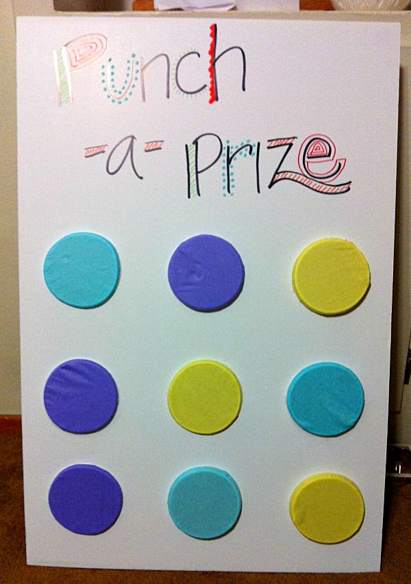 Punch-A-Prize! An awesome pinata alternative and party game!