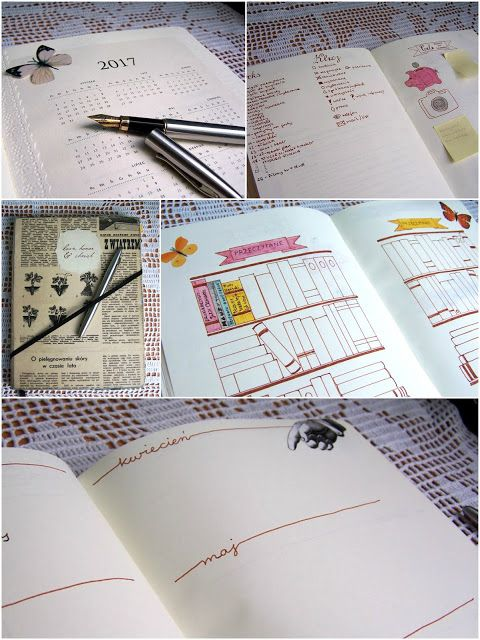Setna strona - blog literacki: bullet journal