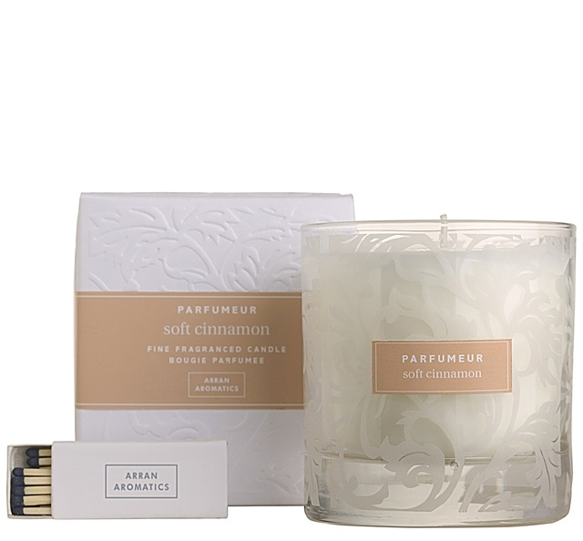 Gifts - Soft Cinnamon Candle in Glass 38cl £19.50