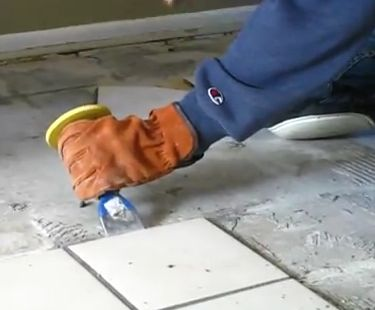 Removing Ceramic Tiles How To Prepare The Bathroom For A New Floor. For All  You DIYers Who Are Working On Your Projects This Weekend, A Short Clip