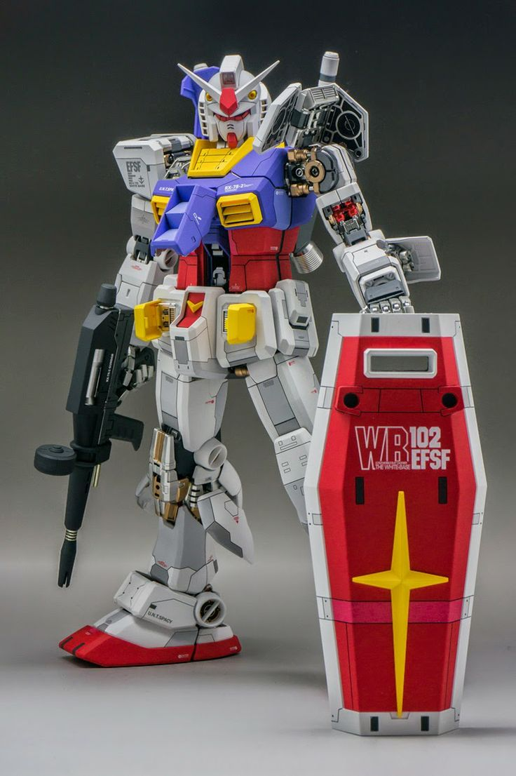 RX-78 T PG 1/60 RX-78-2 Gundam - Painted Build