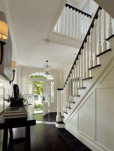 Dutch colonial revival interiors | ScavulloDesign Interiors » Palo Alto Dutch Colonial Revival | Entry