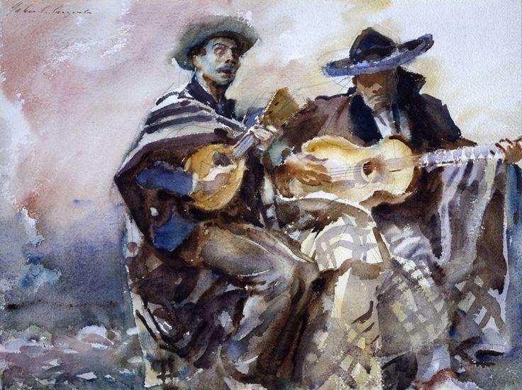 John Singer Sargent, Blind Musicians, 1912