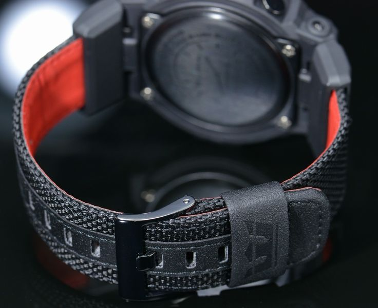 G-Shock Supra Limited Edition comes with Nylon Band for extra Toughness and Style. Model : GA-200SPR-1A