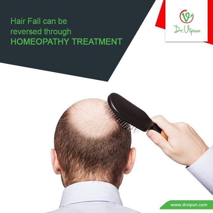 Hair fall can be reversed through Homeopathy Treatment.  http://www.drvipun.com/