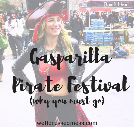 Informative Blog Post on a Must Do festival if you travel to Tampa in February! Important tips to know if you plan on attending the Gasparilla Pirate Festival in Tampa, Florida!