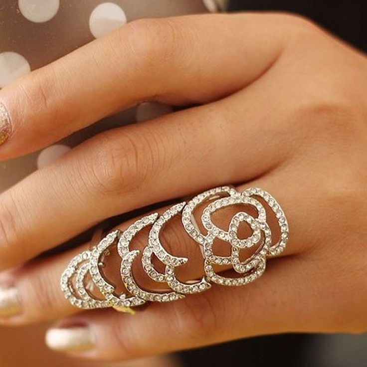 66 best Over the finger images on Pinterest | Beautiful rings ...
