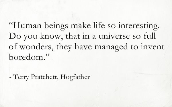 Terry Pratchett Hogfather Discword Quotes Quotes
