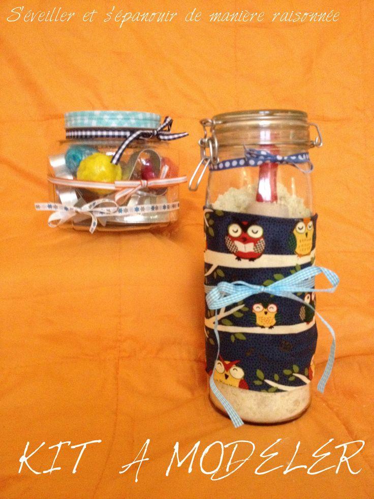 DIY - Un Kit à Modeler pour Bébé/Enfant (pâte à modeler et sable de lune... comestibles!)