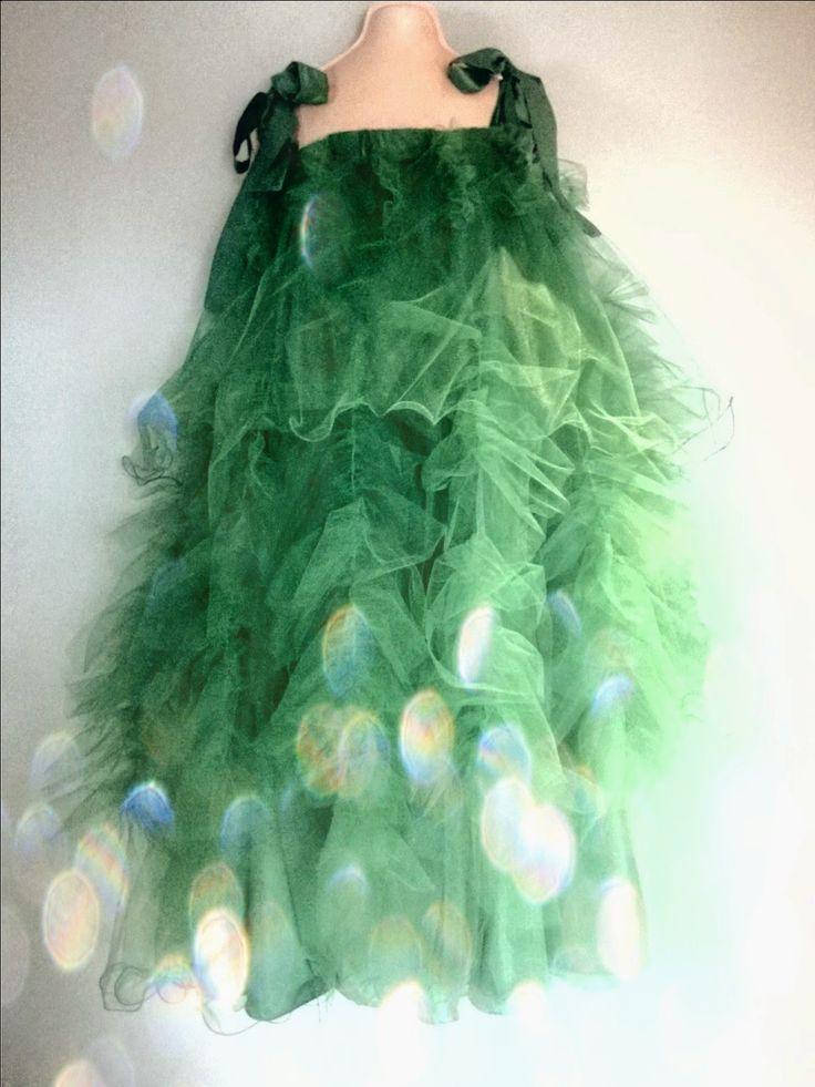 SZYCIE STROJU CHOINKI, sew christmas tree dress, Christmas Tree Costume