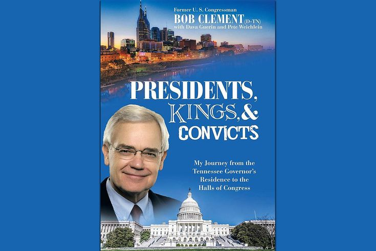 Bob Clement Book Signing hosted by Clarksville Mayor Kim McMillan to be held at Customs House Museum