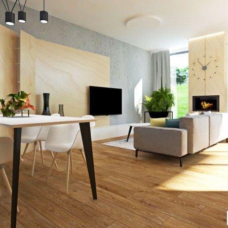 Moderná jedáleň - zariadenie, dizajn