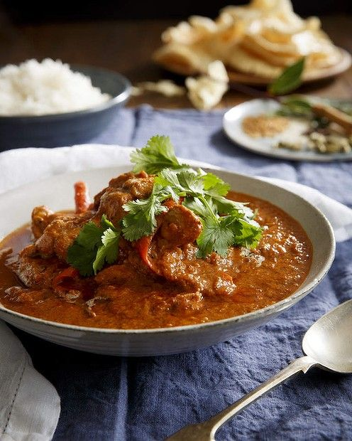 """Now who doesn't love a good butter chicken? Karen Martini's version was a hit with Good Food readers. <a href=""""http://www.goodfood.com.au/good-food/cook/recipe/butter-chicken-20140826-3ebcn.html""""><b>(Recipe here).</b></a>"""