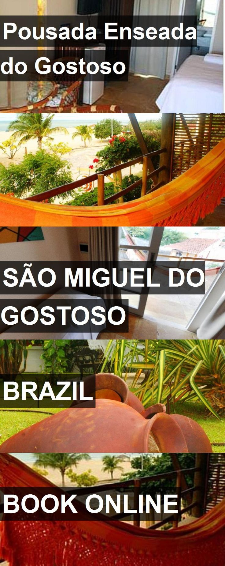 Hotel Pousada Enseada do Gostoso in São Miguel do Gostoso, Brazil. For more information, photos, reviews and best prices please follow the link. #Brazil #SãoMigueldoGostoso #travel #vacation #hotel