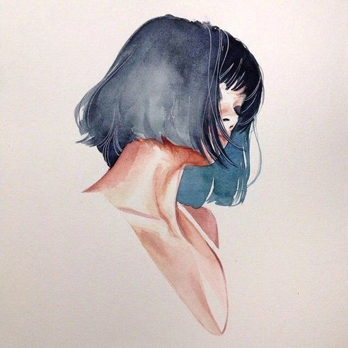 Imagem de girl, art, and draw