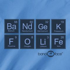 LOL:) Chemistry and Band. My two favorite classes.... Then there is math