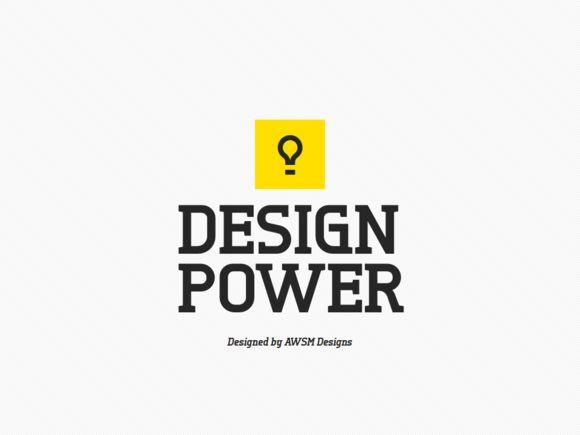 Design Power PowerPoint by AWSM Designs on Creative Market