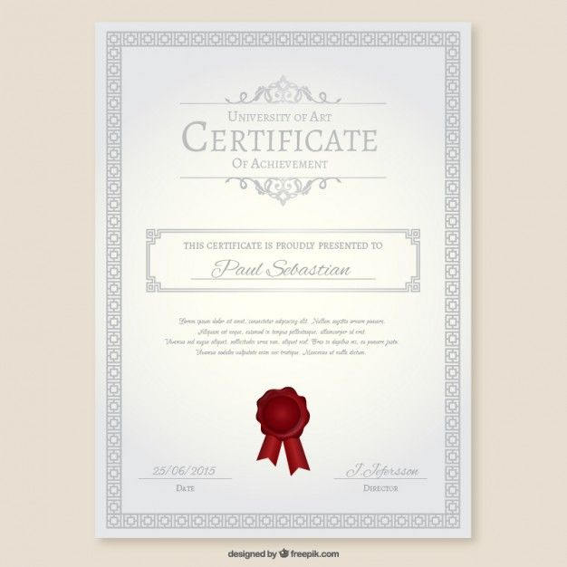 23 best ci images on Pinterest Miniatures, Mockup and Model - new certificate vector free