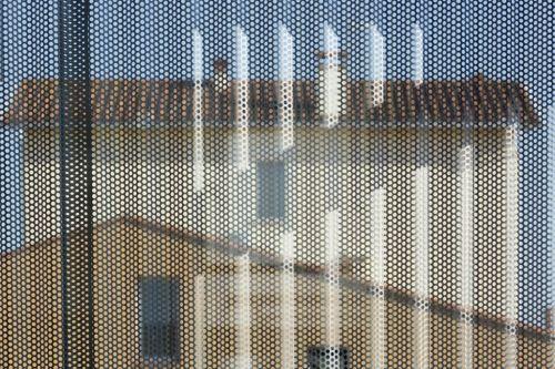 Tourist Office Mas Capellans in Torreilles (France) by Bernard Cabanne - Perpignan, Installer: Sopribat – Millau, Copyright : Paul Kozlowski  #Architecture  #Façade #Cladding #AZENGAR #France #Zinc #VMZINC #PublicBuilding #TouristOffice  #SineWaveProfile #Project