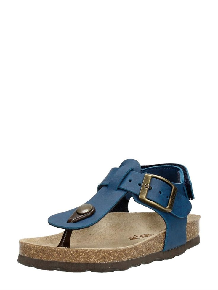 Kipling Juan 3 blauwe jongens sandalen / teenslippers met slingback