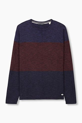 Esprit / Melange jumper in pure cotton
