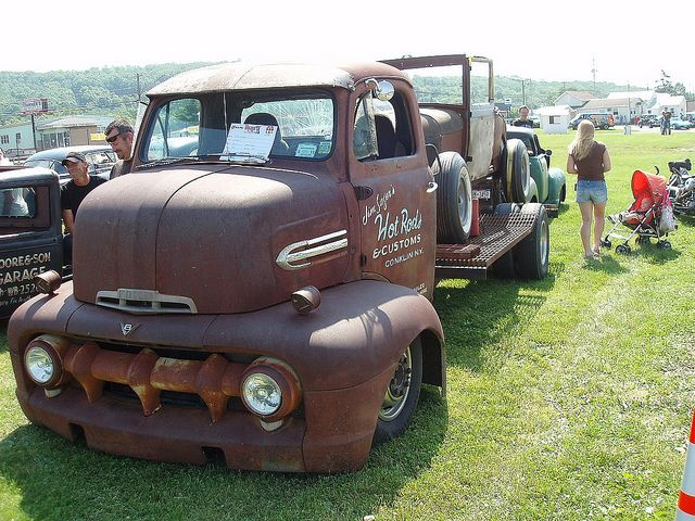 51 Ford COE ratrod
