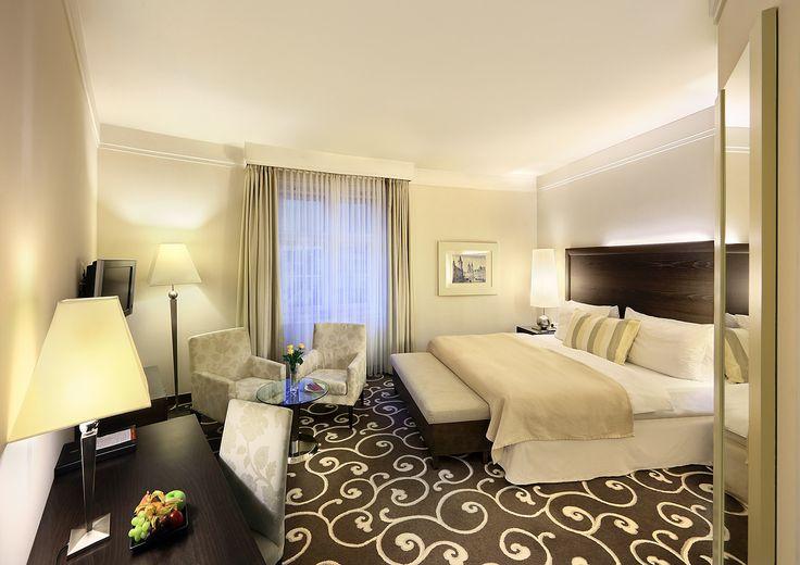 #DeLuxe room at Grand Hotel Bohemia, Prague