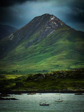 Connemara, County Galway, Ireland. It was beautiful when I was there but this photo is magic. KB