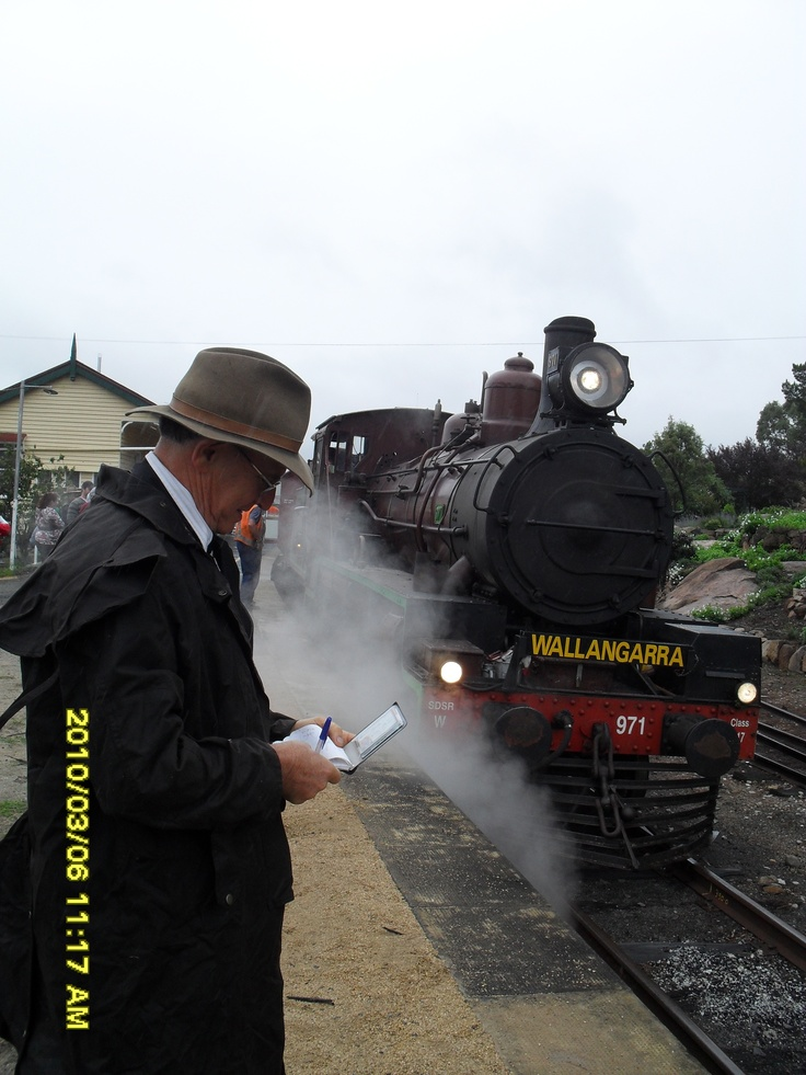 Steam Train comes to Stanthorpe 2010