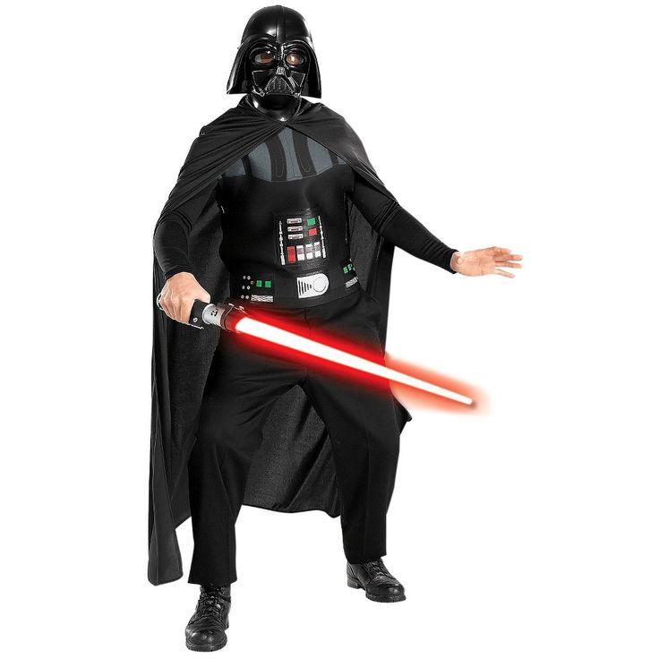Star Wars Episode 3 Darth Vader Adult Costume Kit One Size Fits Most, Black