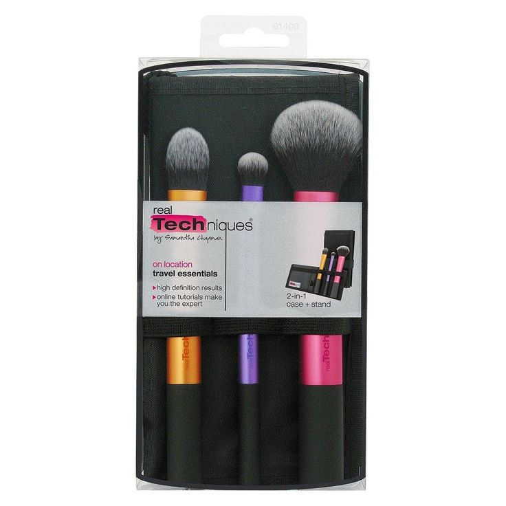 Real Techniques Travel Essentials Set