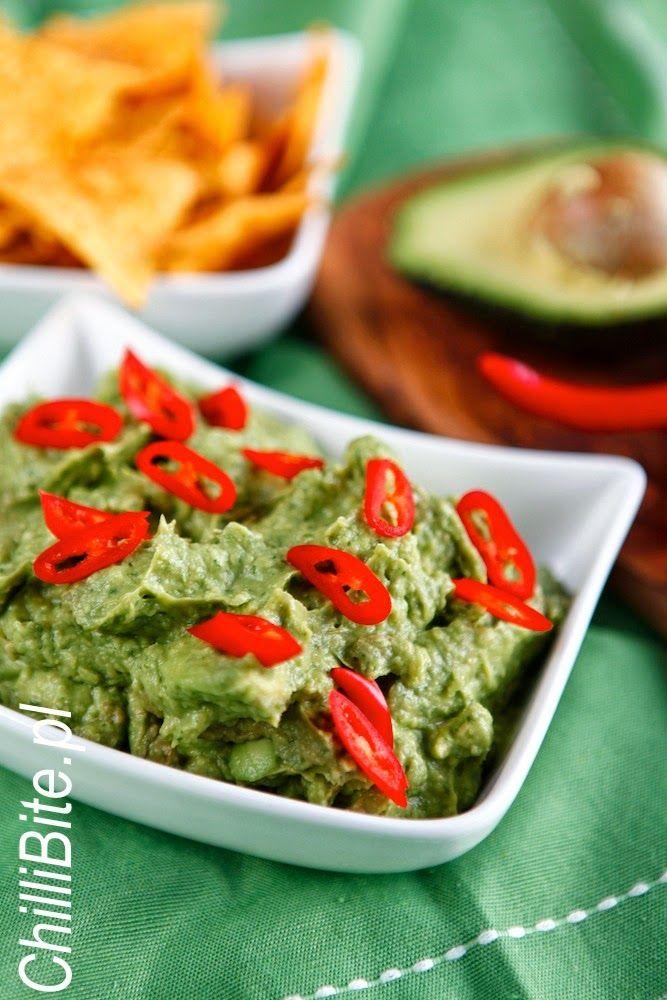 ChilliBite.pl - motywuje do gotowania!: Guacamole - wyśmienita pasta z awokado