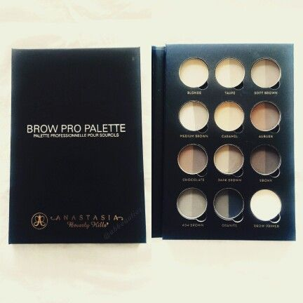 Anastasia Beverly Hills Brow Pro Pallette ❤  So glad to have one of these in my kit too!!  Follow me on instagram @abbeauties