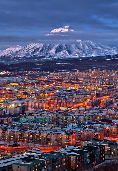 Petropavlovsk-Kamchatsky, Kamchatka Peninsula, Siberia, Russia