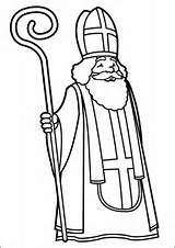 Saint Nicolas Coloriage Picture